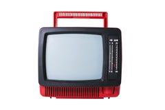 παλαιά καθορισμένη TV Στοκ Εικόνες