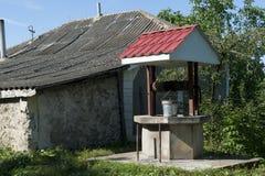 Παλαιά καλά Μολδαβία στοκ εικόνες με δικαίωμα ελεύθερης χρήσης