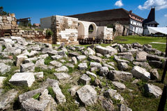 παλαιά καταστροφή κάστρων Στοκ Εικόνα