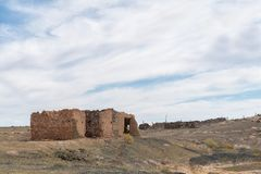 Παλαιά καταστροφή στο Tankwa Karoo στοκ φωτογραφία με δικαίωμα ελεύθερης χρήσης