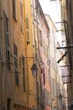 Παλαιά κατοικημένη αρχιτεκτονική στη Νίκαια στοκ εικόνες