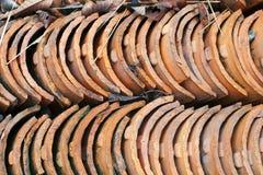 παλαιά κεραμίδια Στοκ φωτογραφία με δικαίωμα ελεύθερης χρήσης