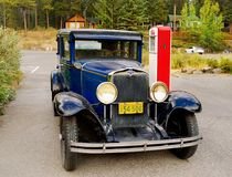 Παλαιά κλασικά εκλεκτής ποιότητας αυτοκίνητα Chevrolet Στοκ Εικόνες