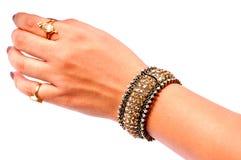 παλαιά κοσμήματα βραχιο&lambd Στοκ φωτογραφίες με δικαίωμα ελεύθερης χρήσης