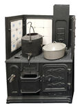 παλαιά κουζίνα άνθρακα Στοκ φωτογραφία με δικαίωμα ελεύθερης χρήσης