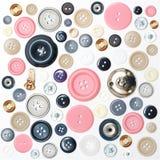 παλαιά κουμπιά Στοκ Εικόνες