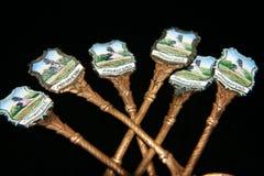 Παλαιά κουτάλια Στοκ Εικόνα