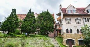 Παλαιά κτήρια σε Dalat, Βιετνάμ στοκ φωτογραφία με δικαίωμα ελεύθερης χρήσης