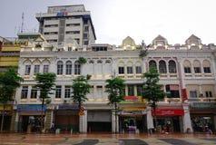 Παλαιά κτήρια στη Κουάλα Λουμπούρ, Μαλαισία Στοκ Εικόνες