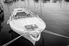 παλαιά κωπηλασία βαρκών Στοκ φωτογραφία με δικαίωμα ελεύθερης χρήσης