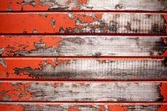 Παλαιά κόκκινη ξύλινη σύσταση Στοκ φωτογραφίες με δικαίωμα ελεύθερης χρήσης