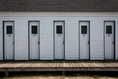 Παλαιά κύρια ντουλάπια παραλιών στοκ εικόνα