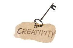 Παλαιά λέξη πλήκτρων και δημιουργικότητας στοκ φωτογραφία με δικαίωμα ελεύθερης χρήσης