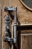 παλαιά λαβή πορτών Στοκ Εικόνες