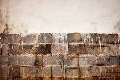 Παλαιά λεκιασμένη υπόβαθρο ή ταπετσαρία τοίχων Στοκ Φωτογραφία