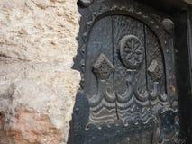 Παλαιά λεπτομέρεια κάστρων της βασίλισσας Μαρία σε Balchik, Βουλγαρία Στοκ φωτογραφίες με δικαίωμα ελεύθερης χρήσης