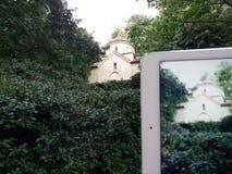 Παλαιά λεπτομέρεια κάστρων της βασίλισσας Μαρία σε Balchik, Βουλγαρία Στοκ Φωτογραφία