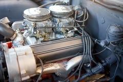 Παλαιά μηχανή αυτοκινήτων μετά από την επισκευή Στοκ εικόνες με δικαίωμα ελεύθερης χρήσης