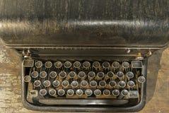 Παλαιά μηχανή γραψίματος Στοκ φωτογραφία με δικαίωμα ελεύθερης χρήσης