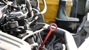 Παλαιά μηχανή diesel απόθεμα βίντεο