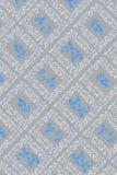 παλαιά μπλε γκρίζα ταπετ&sigma Στοκ Εικόνες