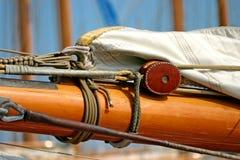 παλαιά ναυσιπλοΐα βαρκών Στοκ Εικόνα