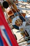 παλαιά ναυσιπλοΐα βαρκών Στοκ Εικόνες