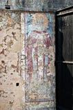 Παλαιά νωπογραφία σε μια εγκαταλειμμένη Ορθόδοξη Εκκλησία στο Μαυροβούνιο στοκ φωτογραφίες με δικαίωμα ελεύθερης χρήσης