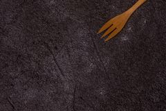 Παλαιά ξύλινα μαχαιροπήρουνα στοκ εικόνα με δικαίωμα ελεύθερης χρήσης