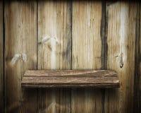 Παλαιά ξύλινα ράφια Στοκ Εικόνες