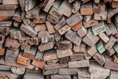 Παλαιά ξύλινα slats Στοκ φωτογραφία με δικαίωμα ελεύθερης χρήσης