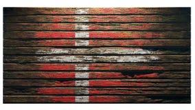 Παλαιά ξύλινη αποκάλυψη υποβάθρου σύστασης διανυσματική απεικόνιση