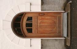 Παλαιά ξύλινη πόρτα Στοκ Φωτογραφία