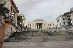 Παλαιά οδός της Αβάνας στην Κούβα Στοκ φωτογραφίες με δικαίωμα ελεύθερης χρήσης