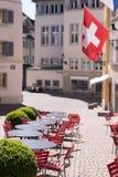 Παλαιά οδός της Ζυρίχης, Ελβετία Στοκ Φωτογραφίες