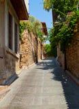 παλαιά οδός Τουρκία antalya Στοκ Εικόνες