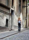 παλαιά οδός στοκ εικόνα