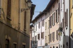 Παλαιά οδός Oggiono, Ιταλία στοκ εικόνες