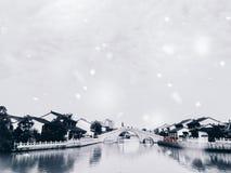 Παλαιά οδός Xitang σε Suzhou στοκ φωτογραφίες με δικαίωμα ελεύθερης χρήσης
