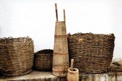 Παλαιά οικιακά εργαλεία στοκ εικόνα με δικαίωμα ελεύθερης χρήσης