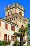 Παλαιά οικοδόμηση Ascona Ticino Ελβετός Στοκ φωτογραφία με δικαίωμα ελεύθερης χρήσης