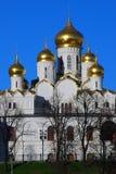 Παλαιά ορθόδοξη Annunciation εκκλησία Κρεμλίνο Μόσχα Στοκ Εικόνες