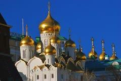 Παλαιά ορθόδοξη Annunciation εκκλησία Κρεμλίνο Μόσχα Στοκ φωτογραφία με δικαίωμα ελεύθερης χρήσης