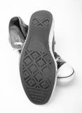 παλαιά πάνινα παπούτσια στοκ εικόνα με δικαίωμα ελεύθερης χρήσης