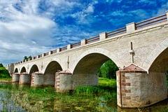 παλαιά πέτρα γεφυρών Στοκ εικόνα με δικαίωμα ελεύθερης χρήσης