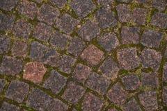 Παλαιά πέτρα επίστρωσης στο φρούριο στοκ εικόνες