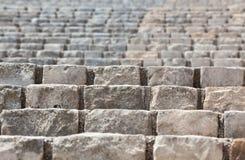 παλαιά πέτρα σκαλών κινηματ Στοκ Εικόνες