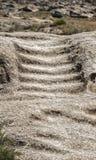 παλαιά πέτρα σκαλών Στοκ Εικόνες