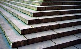 παλαιά πέτρα σκαλών Στοκ Φωτογραφίες