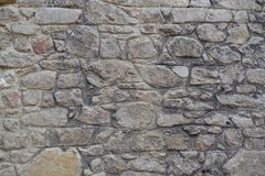 Παλαιά πέτρινη ανασκόπηση τοίχων Στοκ φωτογραφία με δικαίωμα ελεύθερης χρήσης